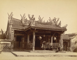 Chinese Temple [Rangoon]